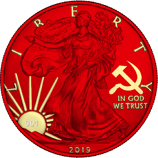 Liberty Paint it Red - Communism