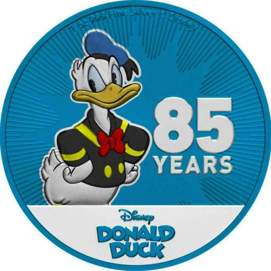 Donald Duck 85th Blue
