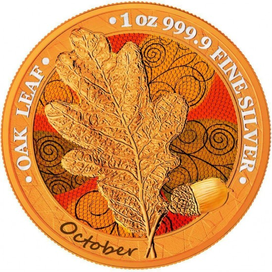 Oak Leaf - 12 Months Series - October
