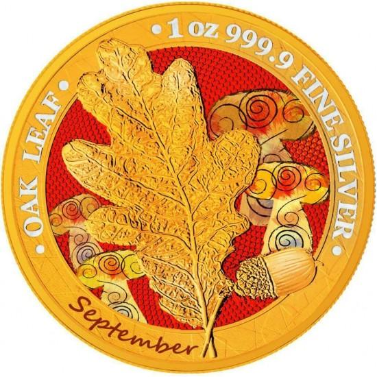 Oak Leaf - 12 Months Series - September