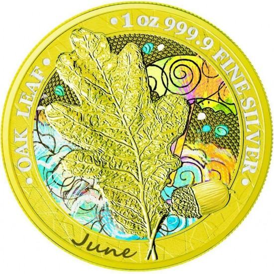 Oak Leaf - 12 Months Series - June