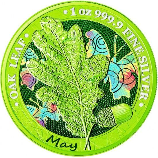 Oak Leaf - 12 Months Series - May