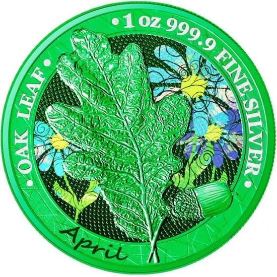 Oak Leaf - 12 Months Series - April