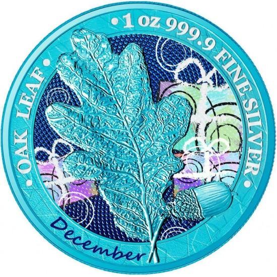Oak Leaf - 12 Months Series - December