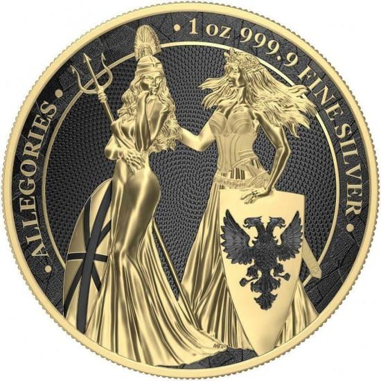 Germania Britannia Gold Black Varnish
