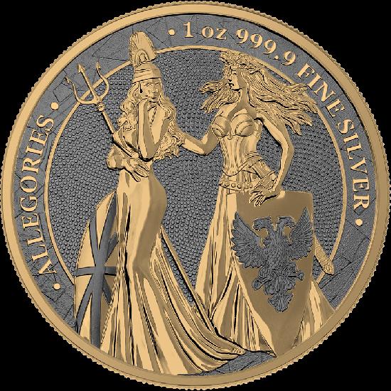 Germania Britannia Rhodium Gold