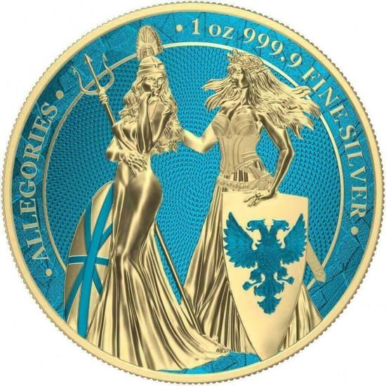 Germania Britannia Gold Space Blue