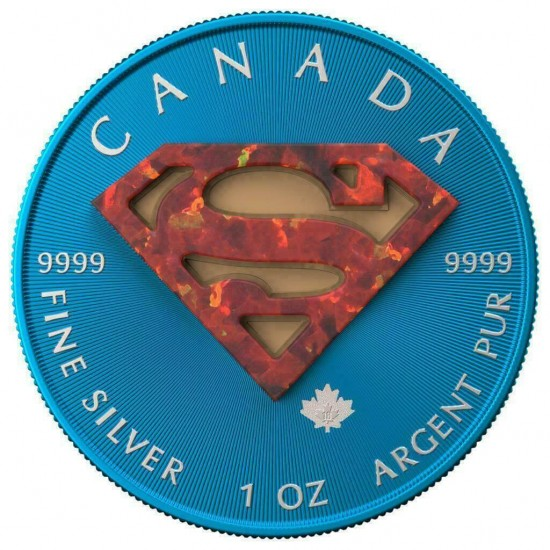 Canada Maple Leaf Superman Opal