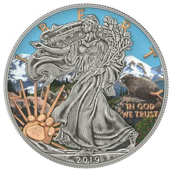 Liberty National Park Mount Rainier
