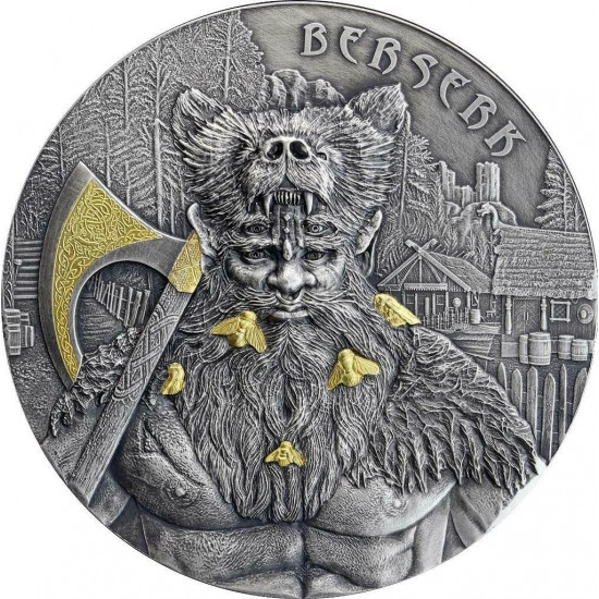 "Germania The Warriors ""BERSERK"" High Relief 2Oz"