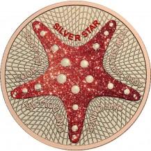 Cook Islands Starifsh Silver Star Diamonds
