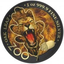 The Oak Leaf - Zoo Series - Lion