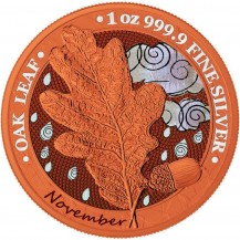 Oak Leaf - 12 Months Series - November