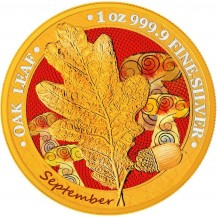 Oak Leaf - 12 Months Series - September