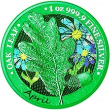 Oak Leaf - 12 Months Series - April