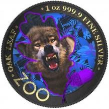The Oak Leaf - Zoo Series - Wolf