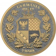 Germania Britannia Rhodium Gold