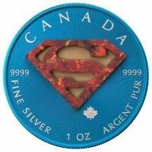 Canada Maple Leaf Superman Opal
