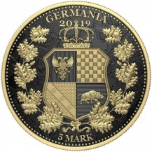 Germania Britannia Gold Black Varnish