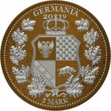 Germania Britannia I Color Caramel