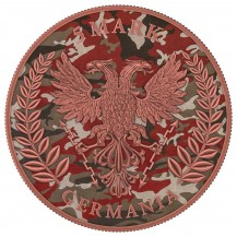 Germania 2020 5 Mark Camouflage Edition Barbarossa 1 Oz 999 Silver Coin