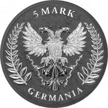 Germania 2020 5 Mark Iron Cross 1 Oz 999 Silver Coin