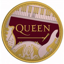 United Kingdom 2020 2£ Queen 1 Oz 999 Silver Coin Limited Only 100 pcs
