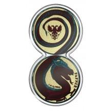 Germania 2020 2 Silver Coins x 5 Mark Fafnir Set Bloody Dragons 2 x 1 Oz