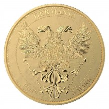 Germania 2019 5 Mark Oak Leaf Bejeweled Fly 1 Oz 999 Silver Coin