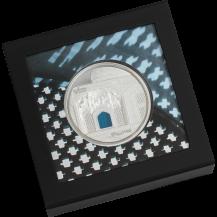 Palau 2020 20$ Tiffany Art Isfahan 3 Oz 999 Proof Silver Coin