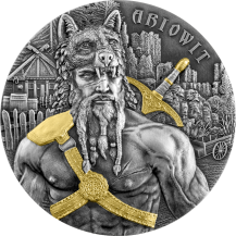 "Germania The Warriors ""ARIOWIT"" High Relief 2Oz"