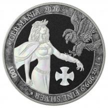 Germania 2020 5 Mark Pearl Cross 1 Oz 999 Silver Coin