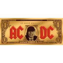 ACDC - Angus Buck 1/10 g Gold Banknote